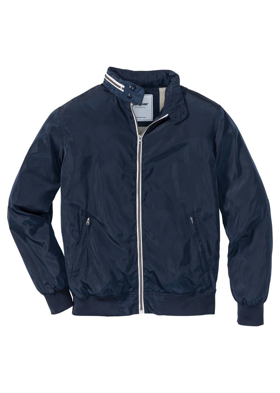 Купить Куртка-блузон Regular Fit, bonprix, темно-синий