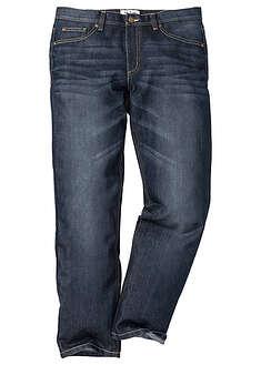 Dżinsy Regular Fit Straight ciemnoniebieski