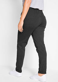 Pantaloni sport nivel 1 negru melanj bpc bonprix collection 2