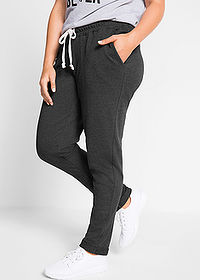Pantaloni sport nivel 1 negru melanj bpc bonprix collection 1
