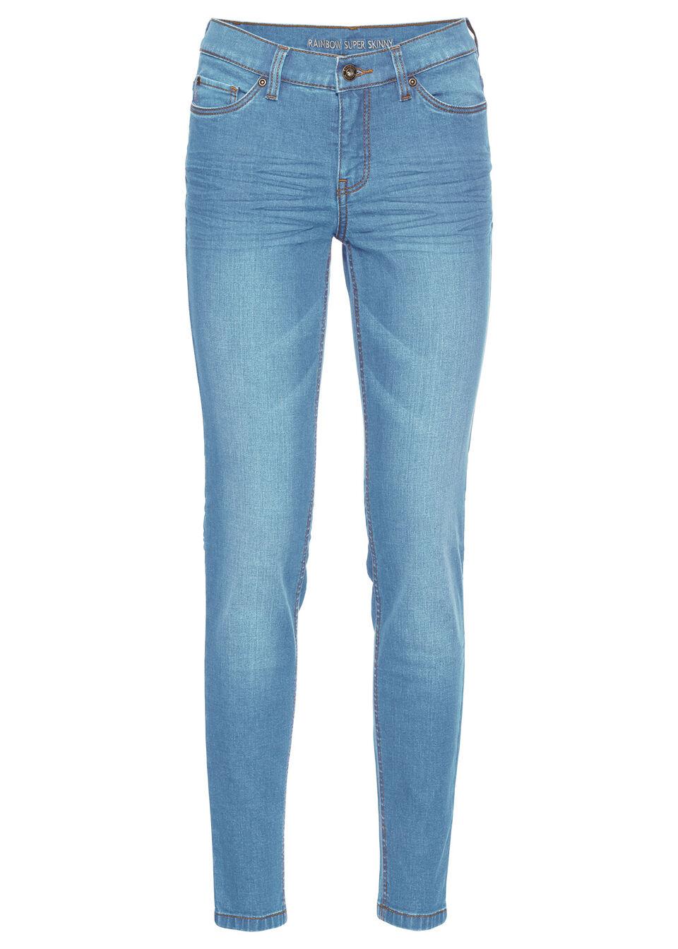 Jeans skinny, croi scurt bonprix