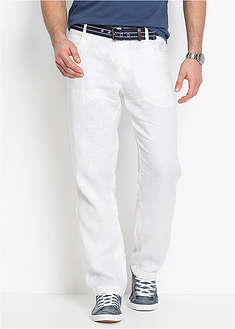 Pantaloni din in Regular Fit-bpc selection