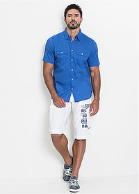 Cargo-bermuda, Loose Fit szürke bpc bonprix collection 3
