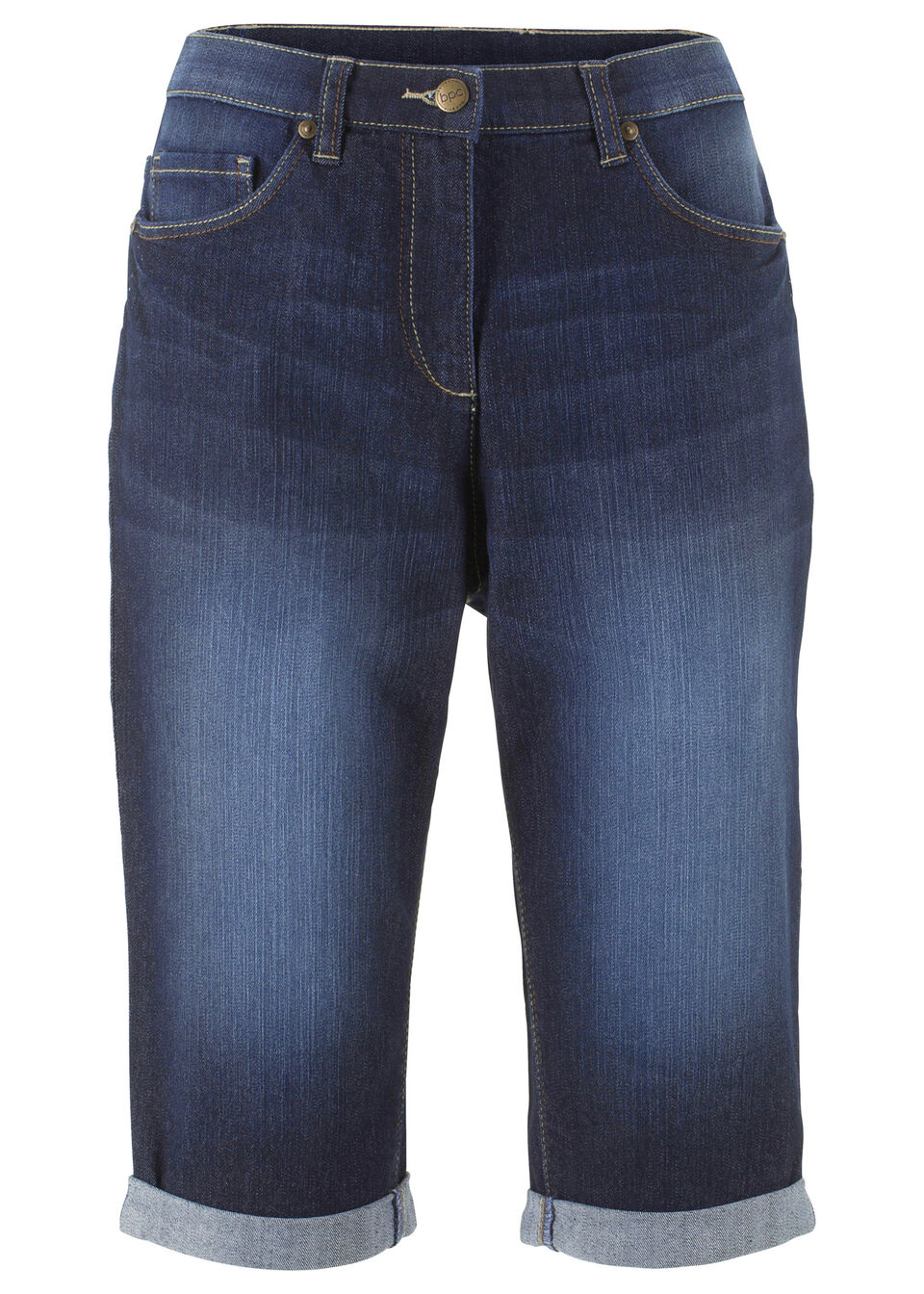 Bermuda denim stretch bonprix