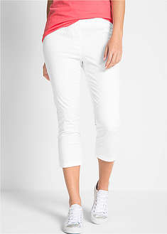 Pantaloni Treggings 3/4 cu stretch-bpc bonprix collection