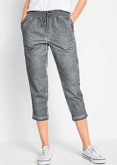 Pantaloni 3/4 cu benzi contrastante bpc bonprix collection 56