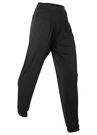 Pantaloni wellness largi, nivel 1 negru bpc bonprix collection 0