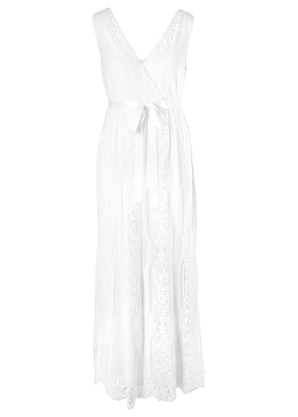 cfe337ab4a93 Tehotenské svadobné šaty biela vlna • 74.99 € • bonprix