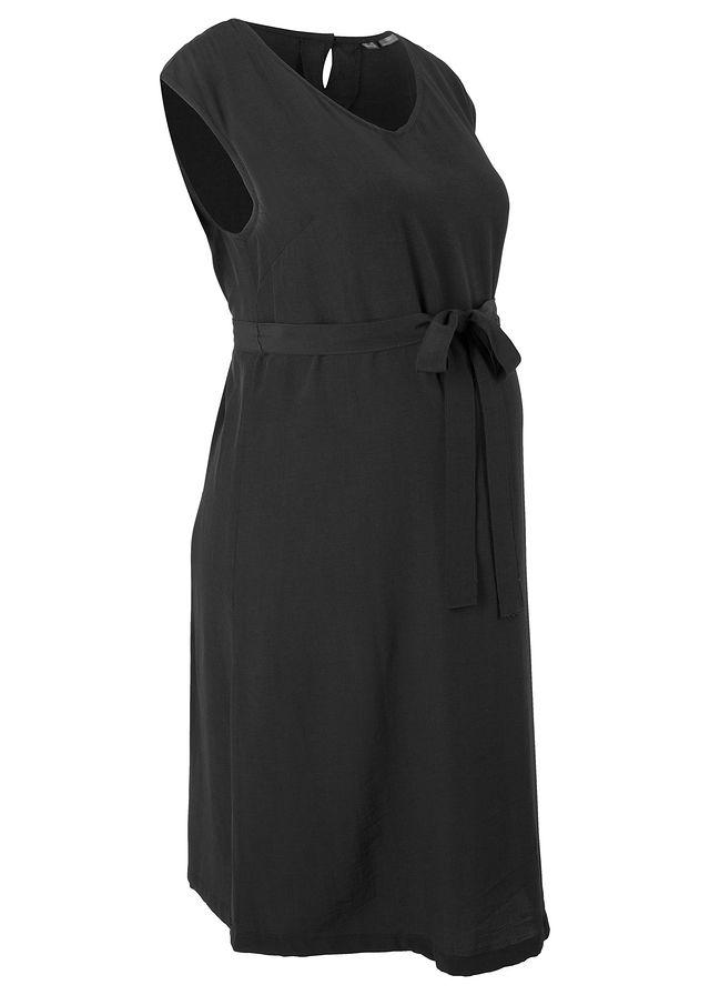 Tehotenské šaty čierna Vzdušné • 24.99 € • bonprix b413bce199a