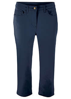 Pantaloni superstretch 3/4 cu talie confortabilă bpc bonprix collection 52