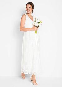 5e16e3b4f6f2 Tehotenské svadobné šaty • biela vlna • bonprix obchod. Tento produkt má 39  zhliadnutí v priebehu 24 h