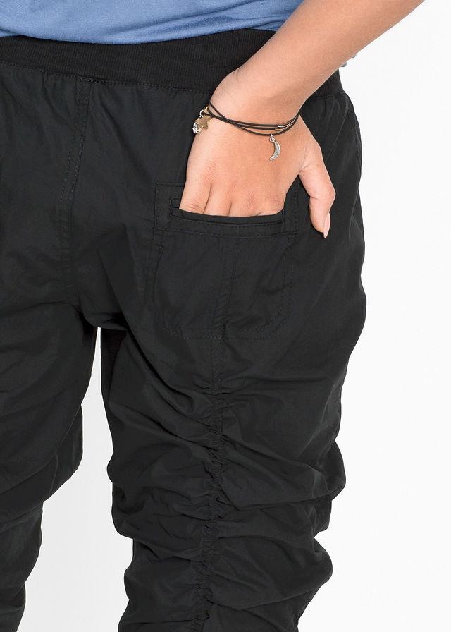 88b6289f3084 Pohodlné Capri nohavice čierna S plne • 29.99 € • bonprix