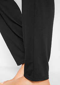 Pantaloni wellness largi, nivel 1 negru bpc bonprix collection 4