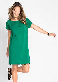 afdeb8546 Úpletové šaty s výstrihom Carmen bpc bonprix collection 9,99 €
