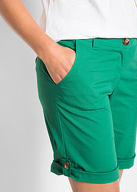 Bermude stretch verde mentă bpc bonprix collection 4