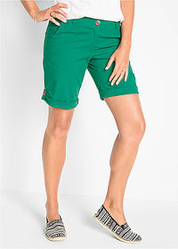 Bermude stretch verde mentă bpc bonprix collection 1