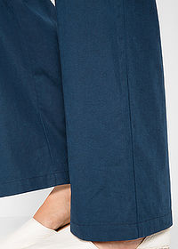 Pantaloni in, largi bleumarin bpc bonprix collection 4