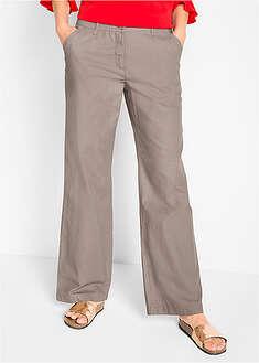 """Spodnie lniane """"WIDE""""-bpc bonprix collection"""