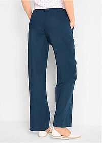 Pantaloni in, largi bleumarin bpc bonprix collection 2