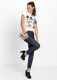 Farmer jegging raw denim RAINBOW 3