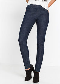 Farmer jegging raw denim RAINBOW 1