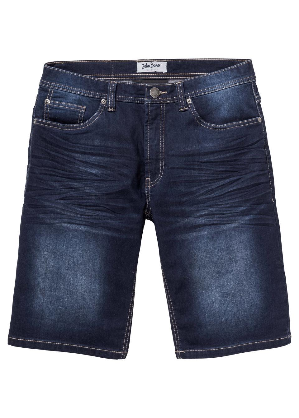 Jeans bermuda Regular fit bonprix