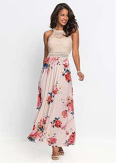 015aed8c633d Letné šaty s kvetinovou potlačou a čipkou BODYFLIRT boutique 34