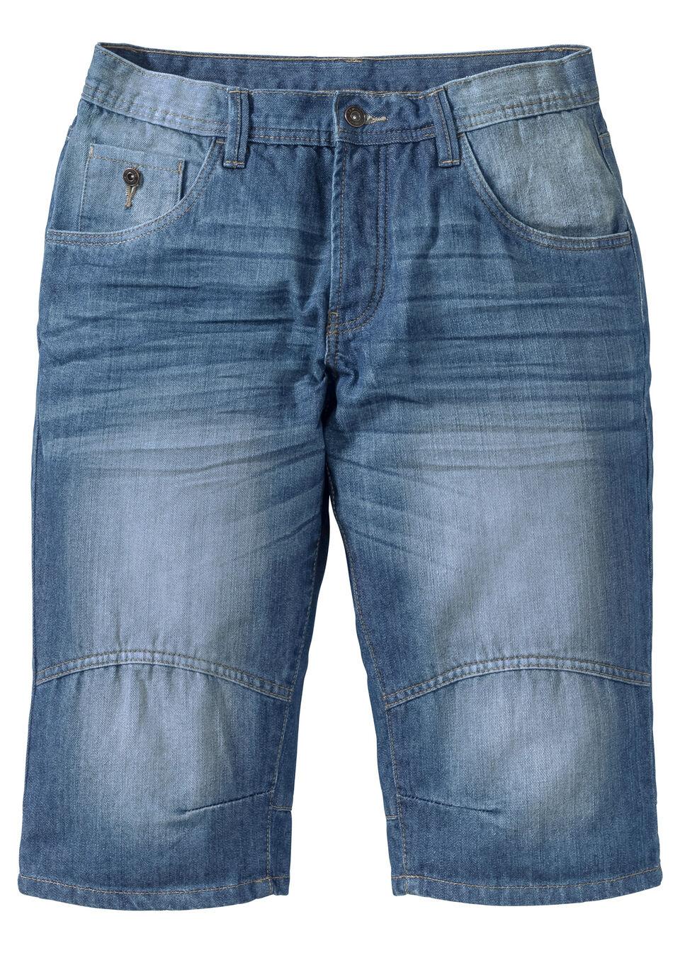 Бермуды джинсовые, Loose Fit от bonprix