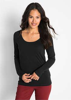 Strečové tričko, dlhý rukáv-bpc bonprix collection