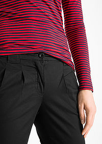 Pantaloni chino stretch negru bpc bonprix collection 5
