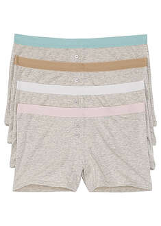 Boxer feminin (4buc/pac)-bpc bonprix collection