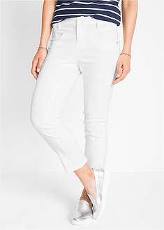 Spodnie wyszczuplające z bengaliny ze stretchem 7/8-bpc bonprix collection