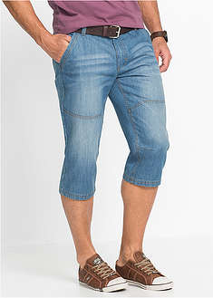 Regular Fit 3/4-es farmernadrág Tapered John Baner JEANSWEAR 39