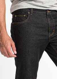 Dżinsy Regular Fit Straight czarny John Baner JEANSWEAR 5