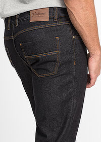 Regular Fit farmer, Straight fekete John Baner JEANSWEAR 5