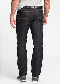 Dżinsy Regular Fit Straight czarny John Baner JEANSWEAR 3