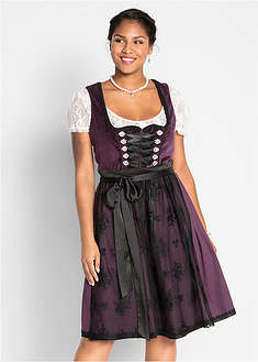 Dirndl cu aspect de catifea bpc bonprix collection 27