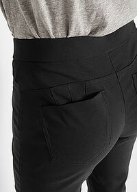 Pantaloni cu stretch negru bpc bonprix collection 5