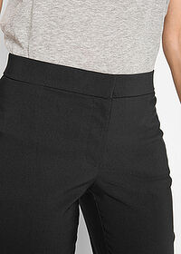 Pantaloni cu stretch negru bpc bonprix collection 4