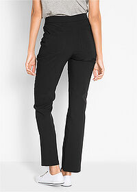 Pantaloni cu stretch negru bpc bonprix collection 2