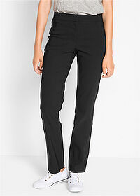 Pantaloni cu stretch negru bpc bonprix collection 1