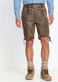 Krátke kožené nohavice-bpc selection