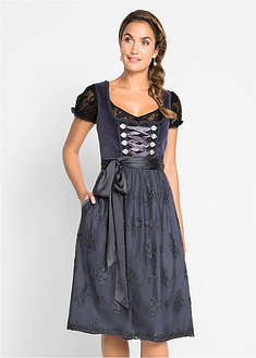 Dirndl cu aspect de catifea bpc bonprix collection 36