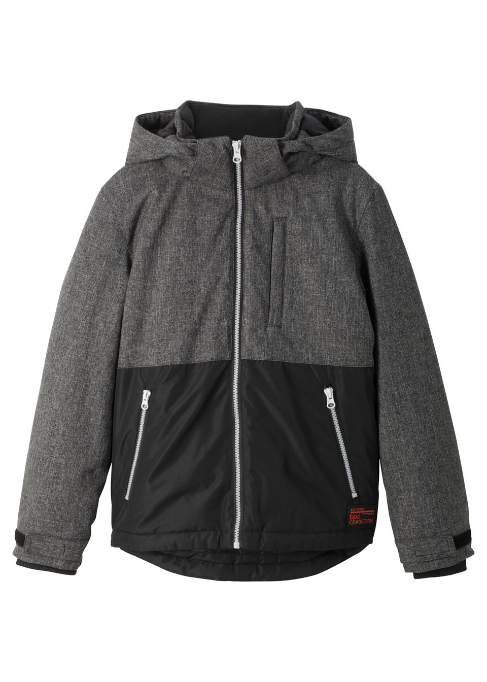 Jachetă de iarnă căptușită cu glugă bonprix