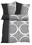 Lenjerie pat, print ornamental gri bpc living bonprix collection 13