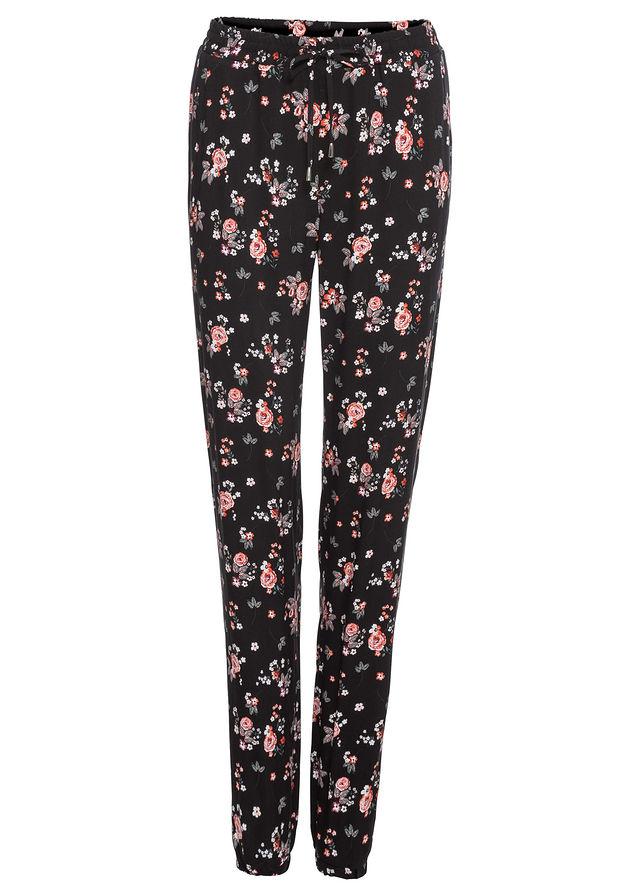 563fefbc Spodnie w kwiaty