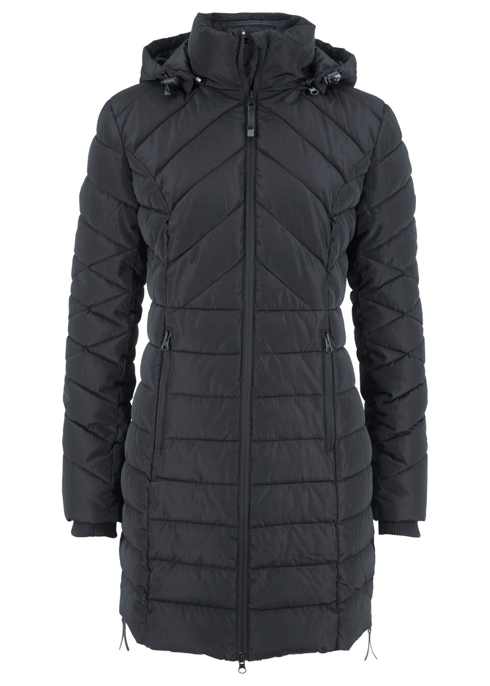 Куртка стеганая, удлиненный покрой от bonprix