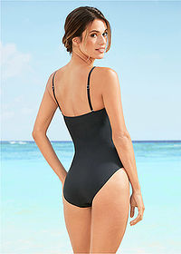 Costum baie shape, nivel 1 negru/alb bpc selection 2