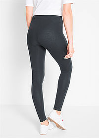 Colanţi stretch (2buc/pac) antracit melanj+negru bpc bonprix collection 2