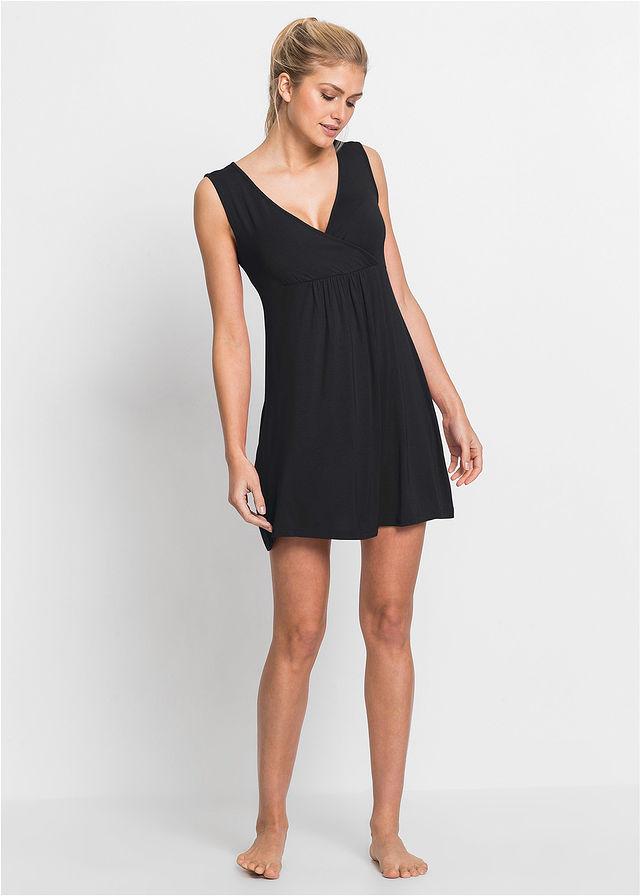 ffa981cedeb8e Nočná košeľa na kojenie čierna Perfektný • 13.99 € • bonprix